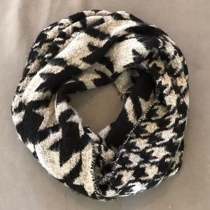 Urban Outfitters black and white infinity scarf